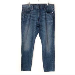 "BONOBOS. ""The blue jean"" straight leg jeans."